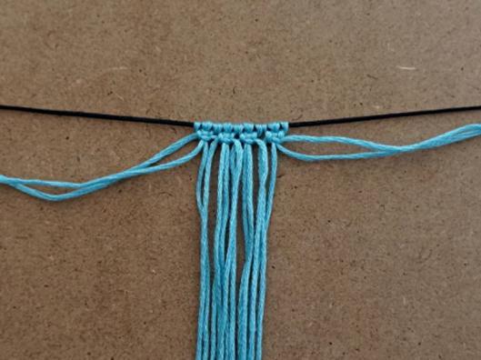 Isolement des 2 fils extérieurs pour deuxième ligne