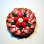 Magnet réalisé avec une cane fraise