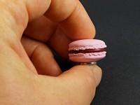 Mini magnet macaron rose