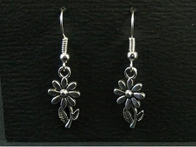 Boucles d'oreilles fantaisie breloques fleurs