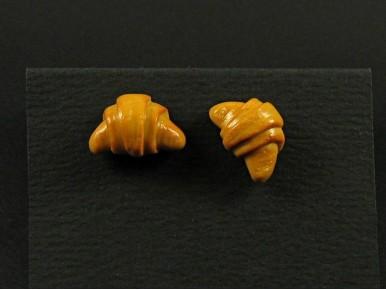 Boucles d'oreilles format puce croissant
