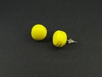 Boucles d'oreilles puces macarons