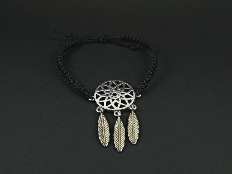bracelet tissage symbole attrape r ve. Black Bedroom Furniture Sets. Home Design Ideas
