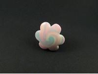 Bague fantaisie forme nuage aux couleurs guimauve