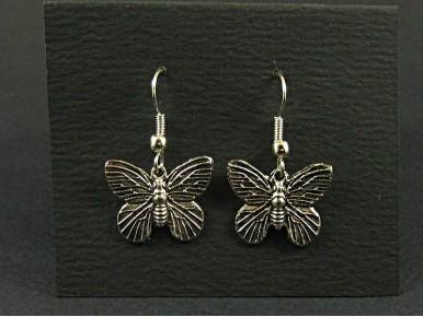 Boucles oreilles fantaisie papillons