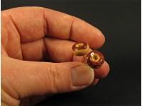 Boucles d'oreilles gourmandes donut format puces