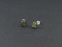 Boucles d'oreilles fantaisie  puce grenouilles