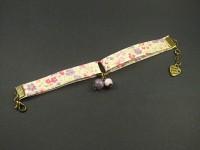 Bracelet liberty rose et mauve