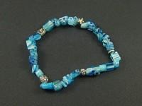 Bracelet bleu taille adulte