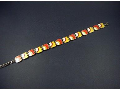 Bracelet aux couleurs des années 70