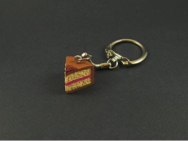 Porte-clés artisanal faussement gourmand mais vraiment original