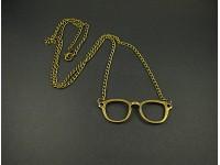 Collier fantaisie lunettes