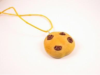 Collier cookie doré