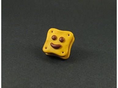 Magnet artisanal BN chocolat