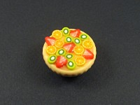 Appétissante tarte multifruits montée en magnet