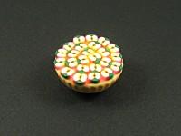Magnet arisanal représentant une tarte aux pommes