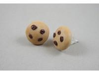 Boucles d'oreilles à clous en cookies