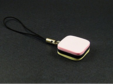 Bijou de téléphone bonbon anglais tricolore