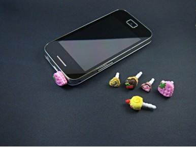 Bijoux de téléphone gourmands spécial smartphones